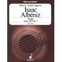 Albéniz, Isaac - Tango D major op. 165/2