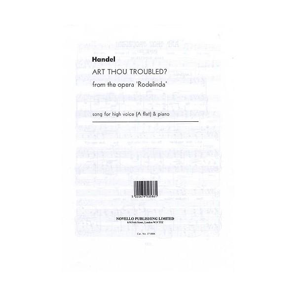 Handel: Art Thou Troubled (High Voice) - Handel, George Frideric (Composer)