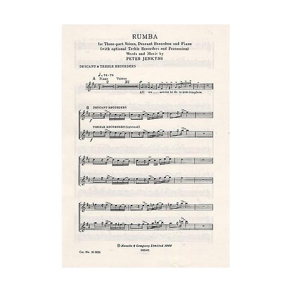 Peter Jenkyns: Rumba - Jenkyns, Peter (Artist)