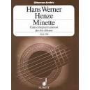 Henze, Hans Werner - Minette