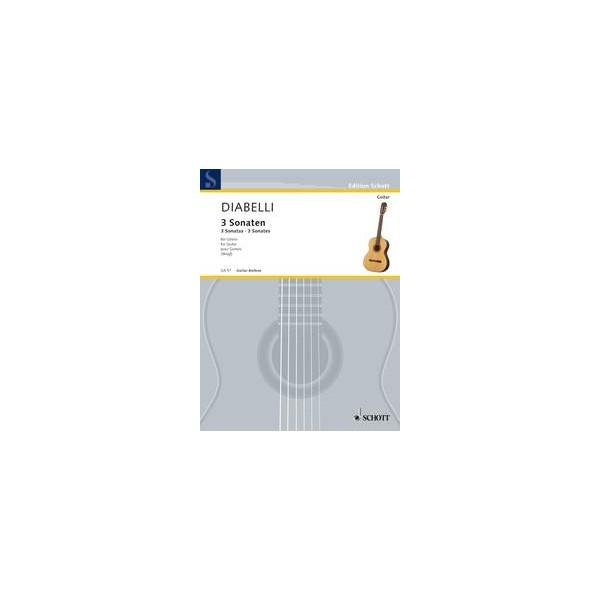 Diabelli, Anton - 3 Sonatas