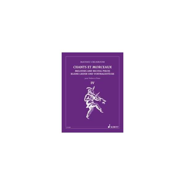 Melodies and Recital Pieces   Vol. 4