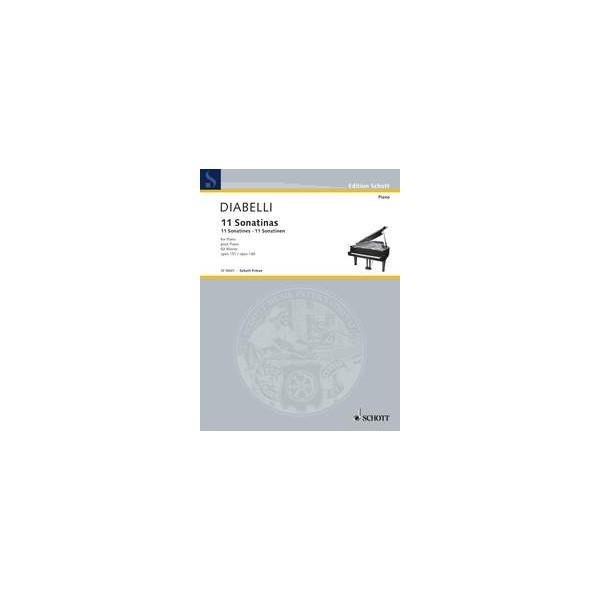 Diabelli, Anton - 11 Sonatines op. 151 + 168