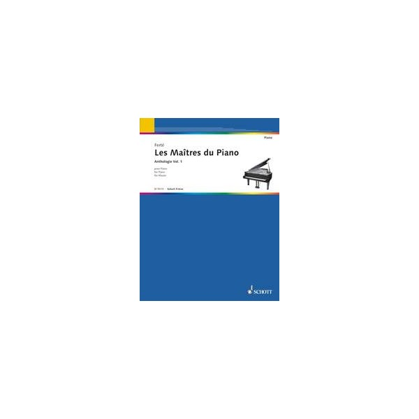 The Master of the Pianos   Vol. 1