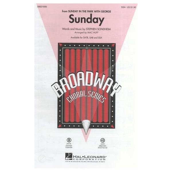 Stephen Sondheim: Sunday (Sunday In The Park With George) - SSA