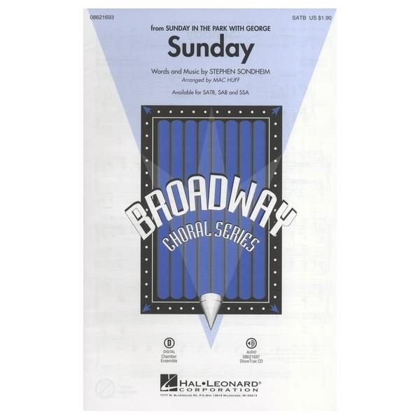 Stephen Sondheim: Sunday (Sunday In The Park With George) - SATB