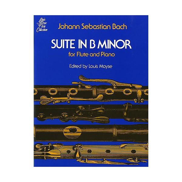 J.S. Bach: Suite In B Minor BWV 1067 (Flute/Piano) - Bach, Johann Sebastian (Composer)