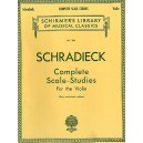 Henry Schradieck: Complete Scale Studies For The Violin (Authorized Edition) - Schradieck, Henry (Artist)
