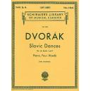 Antonin Dvorak: Slavonic Dances Op.46 Books 1 And 2 (Piano Duet) - Dvorak, Antonin (Artist)