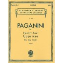 Niccolo Paganini: Twenty-Four Caprices For Solo Violin Op.1 - Paganini, Niccol? (Artist)