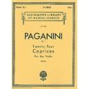 Niccolo Paganini: Twenty-Four Caprices For Solo Violin Op.1 - Paganini, Niccol? (Artist)