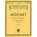 W.A. Mozart: Two Duets For Violin And Viola K.423/424 - Mozart, Wolfgang Amadeus (Composer)