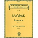 Antonin Dvorak: Romance For Violin And Piano Op.11 - Dvorak, Antonin (Composer)