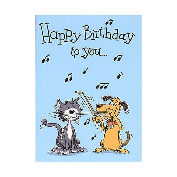 Music Gallery: Kids 2 Birthday Card