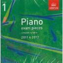 ABRSM Piano Exam Pieces 2011-2012 Grade 1 CD ONLY