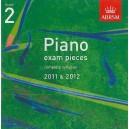 ABRSM Piano Exam Pieces 2011-2012 Grade 2 CD ONLY