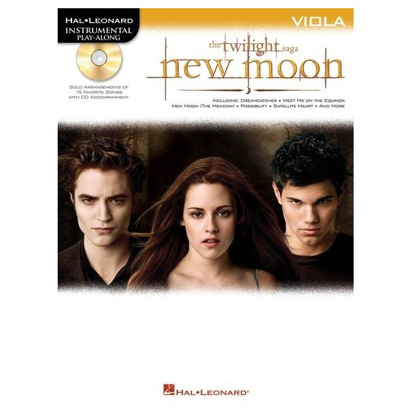 Hal Leonard Instrumental Play-Along: Twilight - New Moon (Viola)