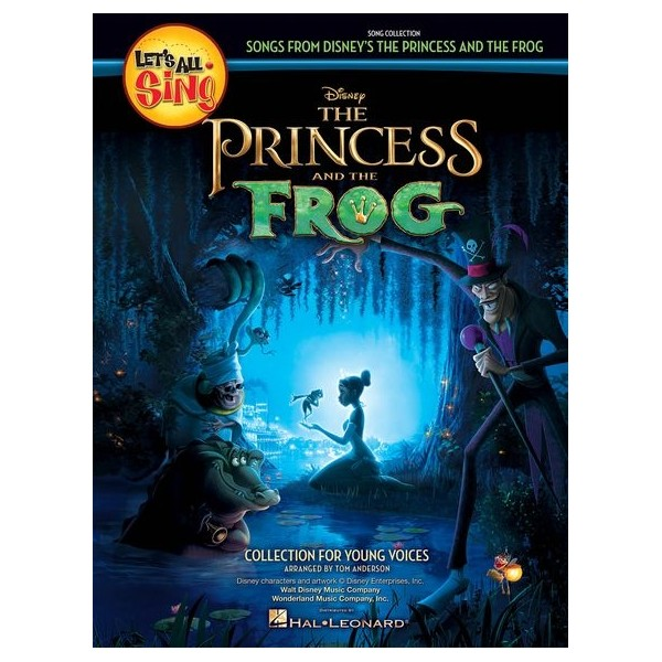 Lets All Sing Songs From Disneys The Princess and the Frog - Piano/Vocal