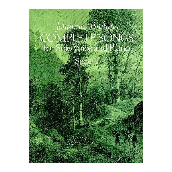 Johannes Brahms: Complete Songs For Solo Voice And Piano Series I - Brahms, Johannes (Artist)