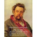 Modest Petrovich Mussorgsky: Pictures At An Exhibition And Other Works For Piano - Mussorgsky, Modest (Composer)