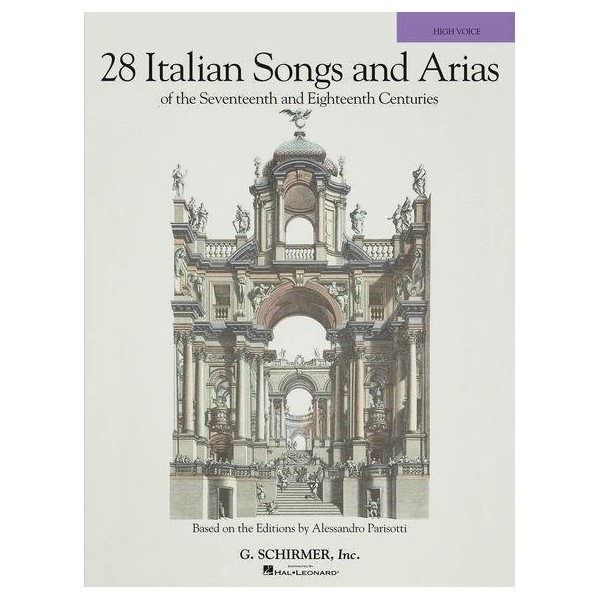 28 Italian Songs And Arias Of The 17th And 18th Centuries - High Voice (Book Only) - Walters, Richard (Editor)