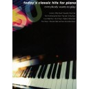 Todays Classic Hits For Piano Everybody Wants To Play