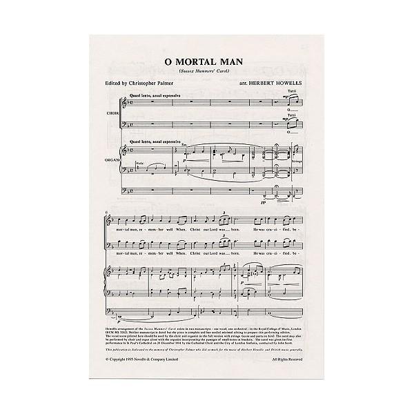 Herbert Howells: O Mortal Man (Sussex Mummers Carol) - Howells, Herbert (Artist)