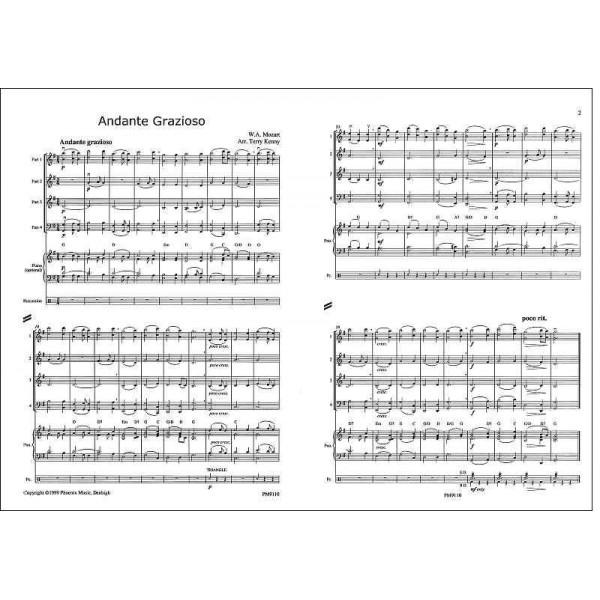 Mozart, W A - Andante Grazioso (Piano Sonata in A )