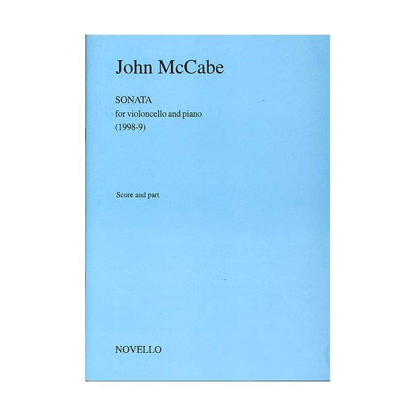 John McCabe: Sonata for Violoncello And Piano - McCabe, John (Artist)
