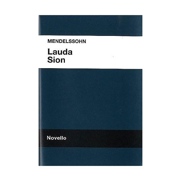 Mendelssohn: Lauda Sion Vocal Score - Mendelssohn, Felix (Artist)