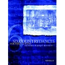 Bennett, Richard Rodney - Six Country Dances (Violin/Piano)