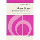 Faure, Gabriel - Messe Basse And Other Sacred Works (SSA)