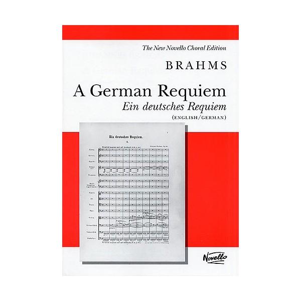 Johannes Brahms: German Requiem (Vocal Score) - Brahms, Johannes (Composer)