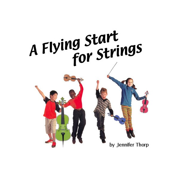 A Flying Start for Strings Cello Book 2 by Jennifer Thorp