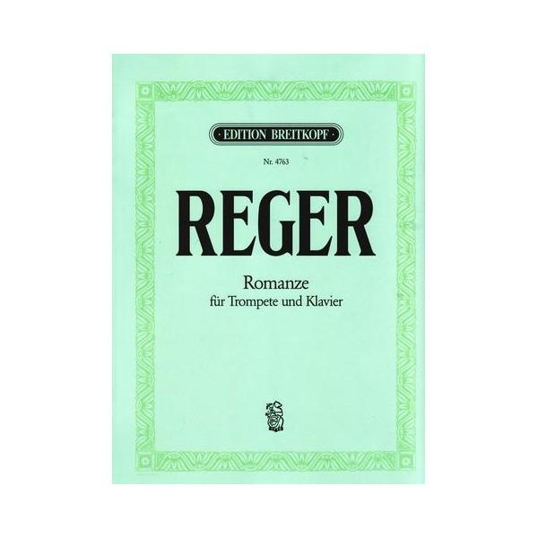 Reger, Max - Romance for Trumpet & pf
