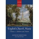 English Church Music, Volume 1: Anthems and Motets Vocal score. Edited by Robert King General Editor John Rutter
