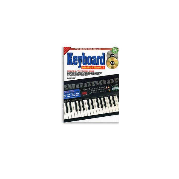 Progressive Keyboard Method: Book 1 (Book/CD/DVD)