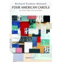 Richard Rodney Bennett: Four American Carols (Unison Voices/Piano) - Bennett, Richard Rodney (Composer)