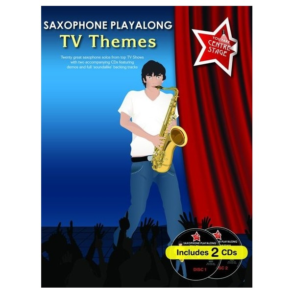You Take Centre Stage: Saxophone Playalong TV Themes