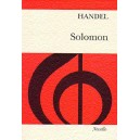 Handel, G F - Solomon (vocal score)