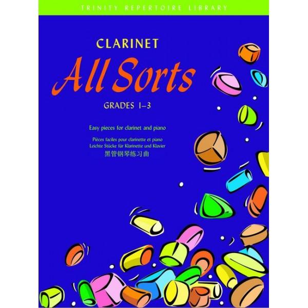 Harris, Paul - Clarinet All Sorts. Grades 1-3 (T Rep L)