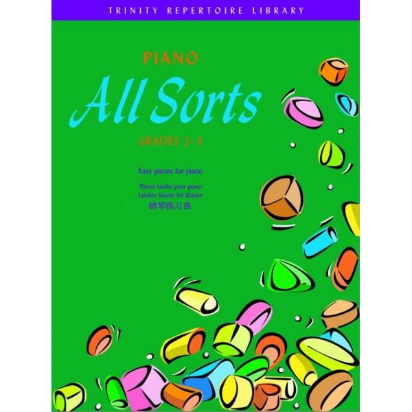 York, John (editor) - Piano All Sorts. Grades 2-3
