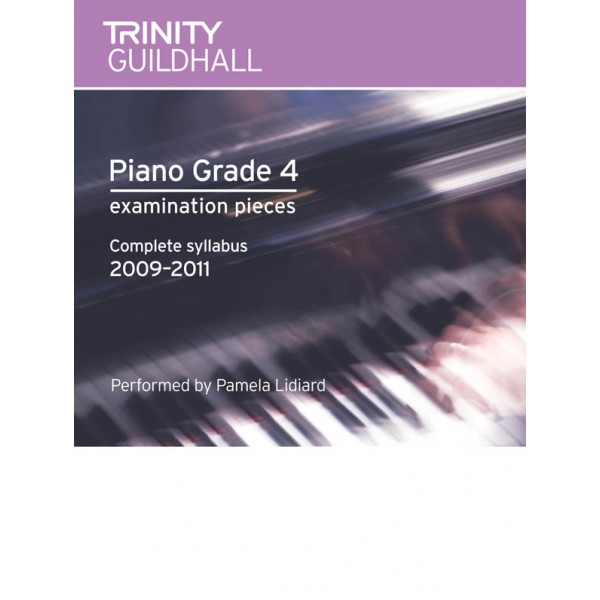 Trinity Guildhall - Piano 2009-2011. Grade 4 (CD)