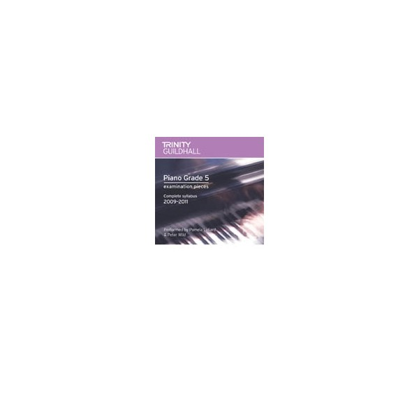 Trinity Guildhall - Piano 2009-2011. Grade 5 (CD)