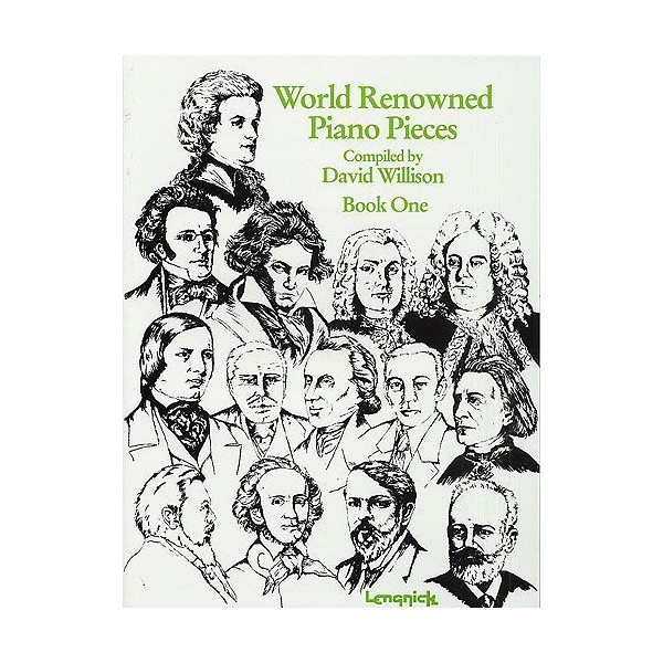 World Renowned Piano Pieces Book 1