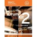 Trinity Guildhall - Drum Kit 2. 2011-2013 Grades 3-4 (bk/CD)