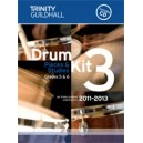 Trinity Guildhall - Drum Kit 3. 2011-2013 Grades 5-6 (bk/CD)