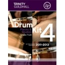 Trinity Guildhall - Drum Kit 4. 2011-2013 Grades 7-8 (bk/CD)