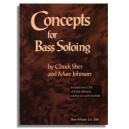 Marc Johnson & Chuck Sher: Concepts For Bass Soloing