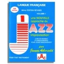 Aebersold Vol. 1: Une Nouvelle Approche du Jazz - 6eme Edition Revisee, en français (in French)